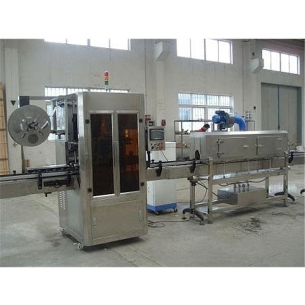 蒸気発生器付きデジタル制御プラスチックカップシュリンクスリーブラベルマシン