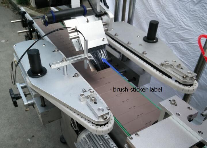 ビール瓶スポークモーター用自動丸瓶ステッカーラベル付け機