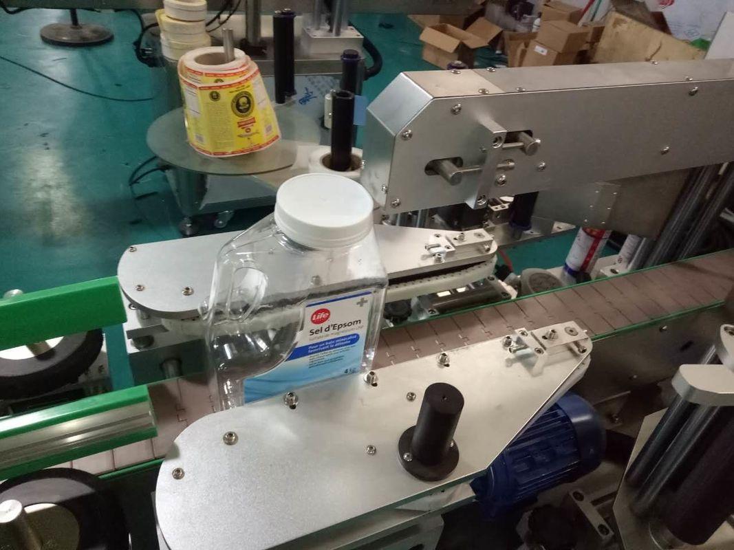 パーソナルケア製品用の両面スクエアボトルステッカーラベリングマシン