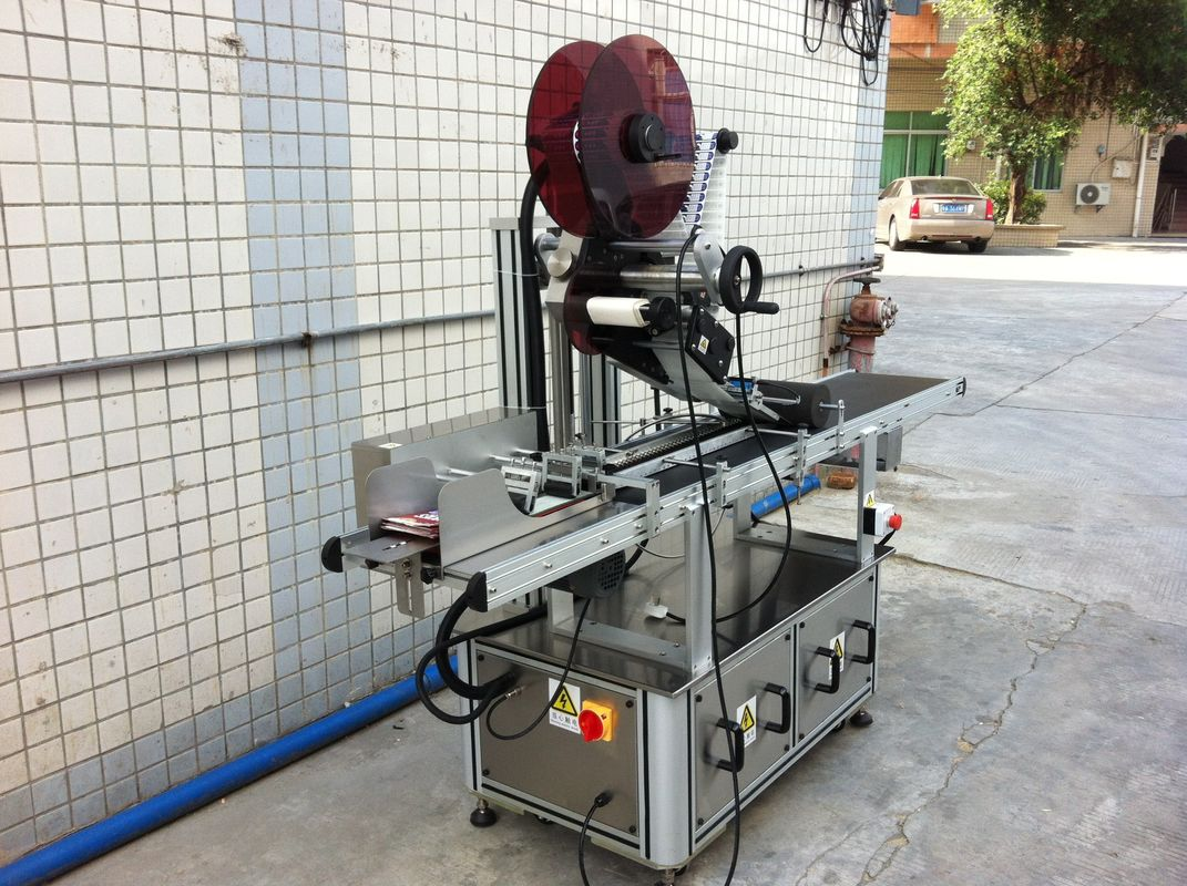 電気駆動トップラベリングマシン、粘着ステッカーラベリングマシン