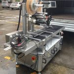 高速ローラートップステッカーラベルマシンステップモーター制御