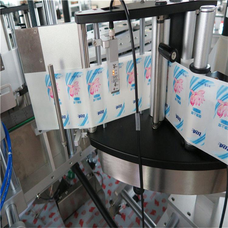 自動片面/両面六角形ラウンドボトルステッカーラベル印刷機
