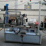 両面ステッカー楕円形楕円形ボトル自動ラベル印刷機